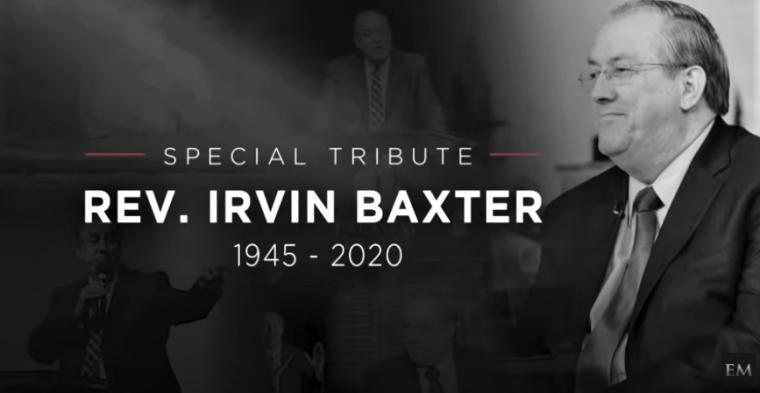 Prophecy Teacher Irvin Baxter Jr Dies at 75 After Contracting Coronavirus