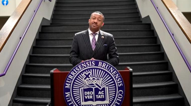 Morris Brown President Speaks at Virtual Homecoming