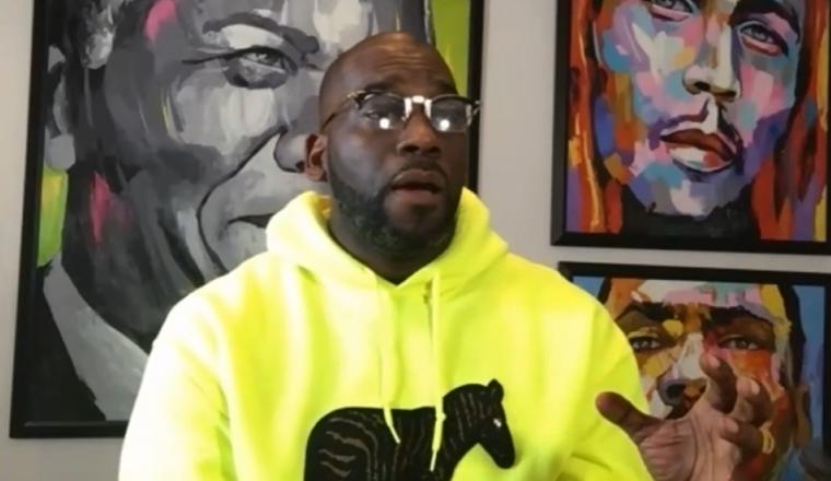 Jamal Bryant on Giveaway