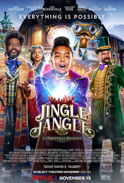 Jingle Jangle A Christmas Journey (2020) 1080p NF WEB-DL HIN-ENG-TAM-TEL DDP5.1 Atmos x264 MSubs -Telly