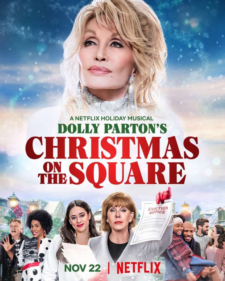 Dolly Parton Discusses Biblical Themes in New Netflix Movie 'Christmas on the Square'