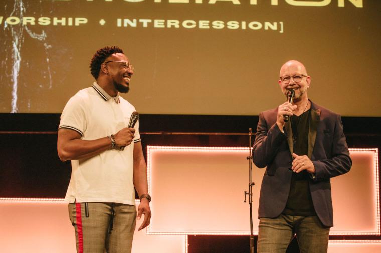 Jay Stewart and Derrick Hawkins