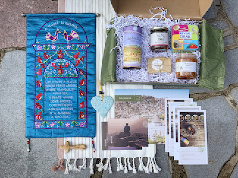 Artza Brings Holy Land Experience to People All Over the World With Holiday Subscription Box After Coronavirus Shuts Down Tourism