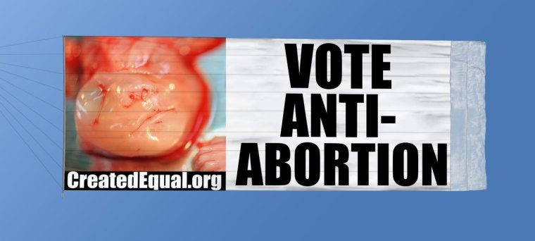 Pro-Life Group to Fly Banner Featuring Photo of Aborted Baby Over Georgia Cities Ahead of Crucial Senate Runoffs