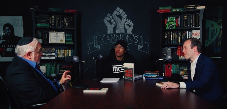 Nick Cannon hosts 'Cannon's Class' with Rabbi Abraham Cooper and the Rev. Johnnie Moore
