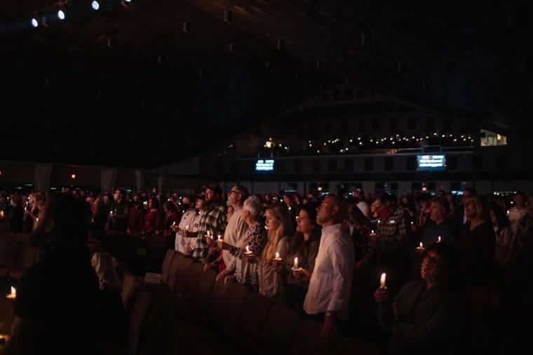Calvary Church Christmas Eve service
