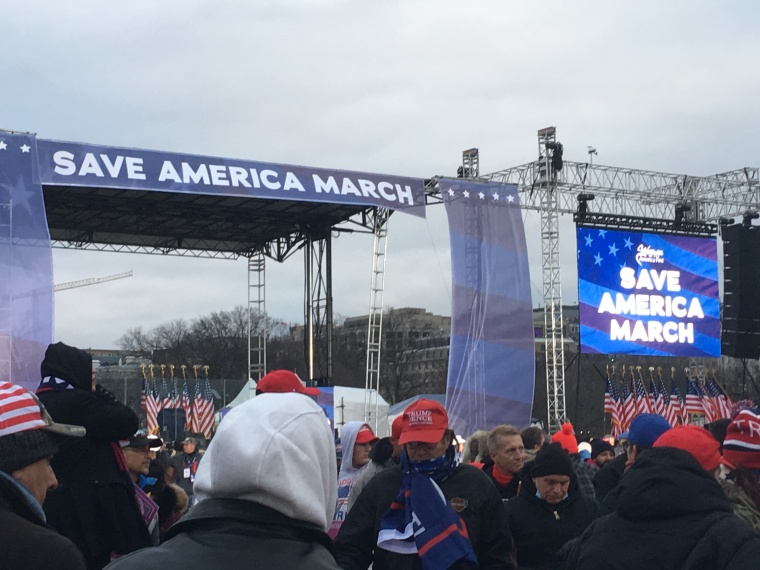 Save America March Stage
