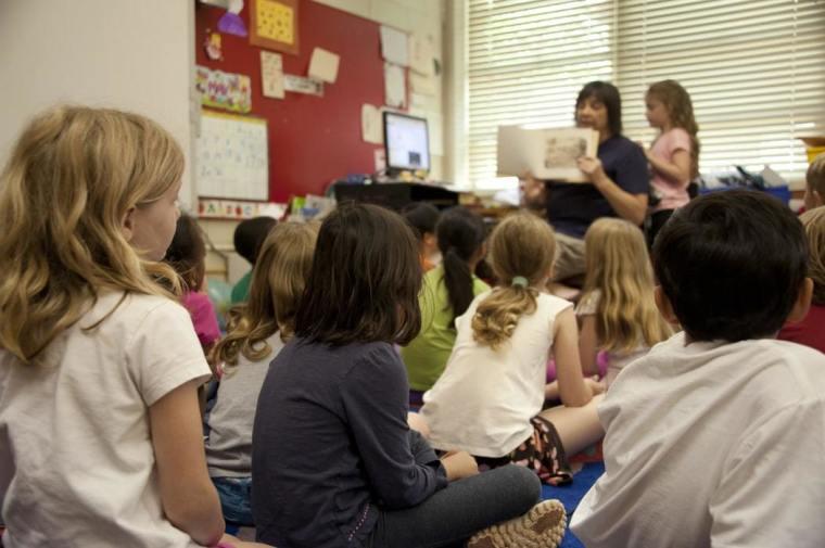 classroom, students, school