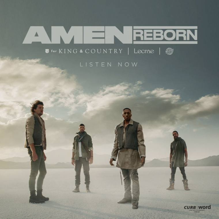 "For King & Country Release ""Amen (Reborn)"" Featuring Lecrae and Tony Williams as 'a Prayer' for Healing"