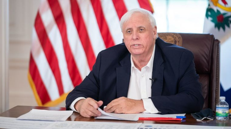 WATCH: West Virginia Gov. Jim Justice Says God's Guidance and 'Good Sound Thinking' Helped State Lead U.S. Vaccine Rollout