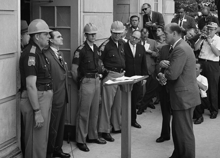 University of Alabama Removes Former Gov. George Wallace's Name from Campus Building Over His Segregationist Policies