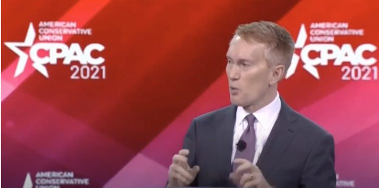 Sen. James Lankford Warns CPAC Audience Pro-LGBT Equality Act Will Force People to Hide Their Faith