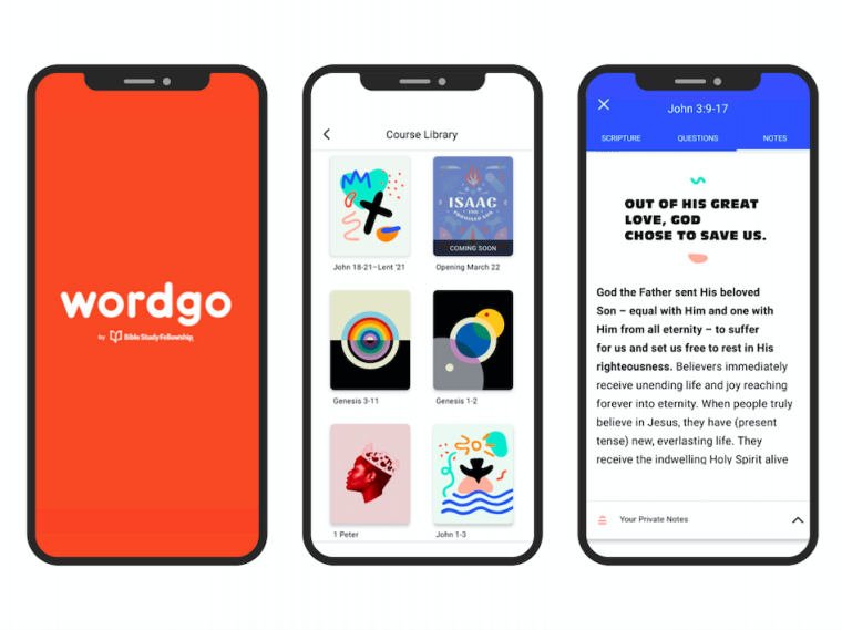 Bible Study Fellowship's WordGo App Aims to Help Christians Study Scripture and Stay Spiritually Fit