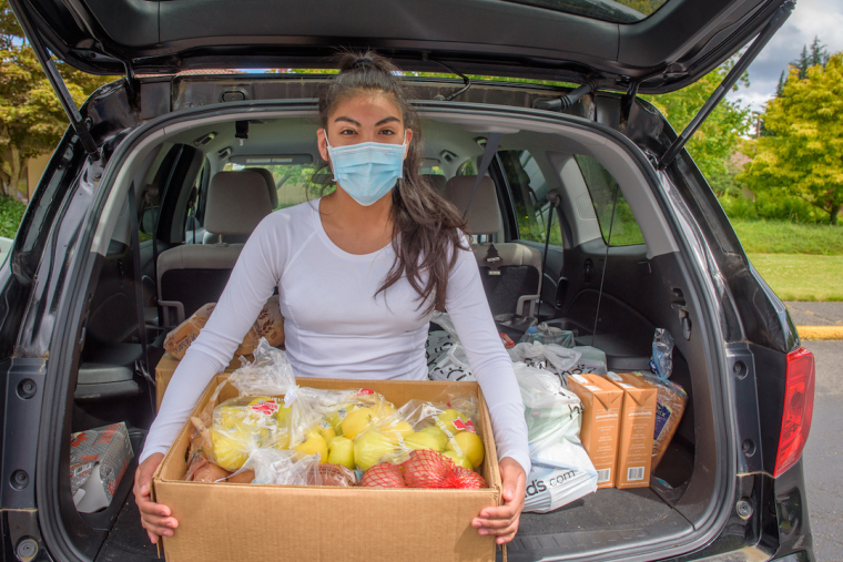 World Vision Fresh Food Box Distribution