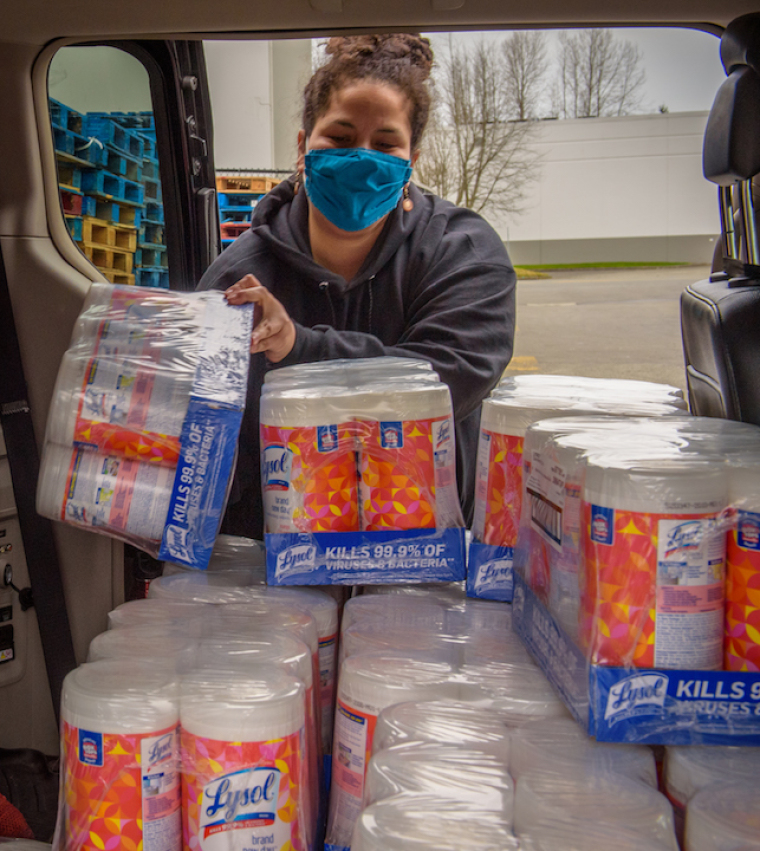 World Vision US PPE Distribution