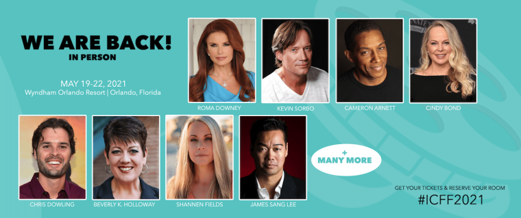 International Christian Film & Music Festival to Honor Roma Downey With Lifetime Achievement Award at Annual Event Expected to be Held In-Person in Florida