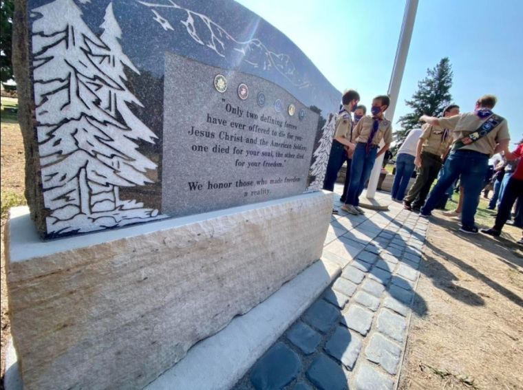 Colorado Town Refuses to Take Down Veterans' Memorial After Complaints from Religious Freedom Foundation About Its Christian Message