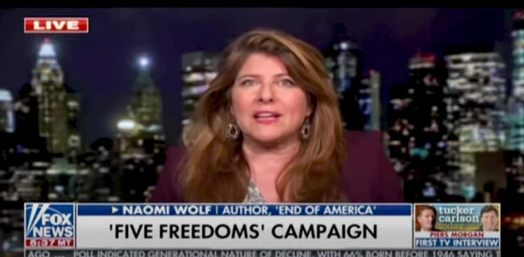 Naomi Wolf, Former Advisor to Democratic Politicians, Criticizes 'War on Easter' and Restrictions on Religious Organizations During Coronavirus Pandemic