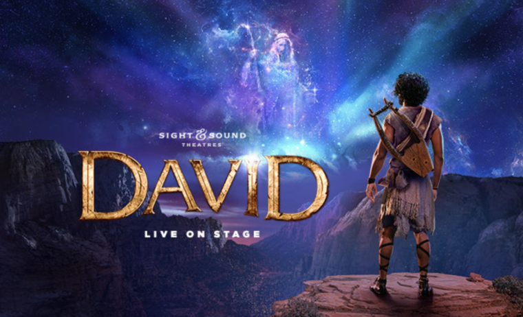 "Sight & Sound Theatres to Premiere ""DAVID"" Stage Production in 2022"