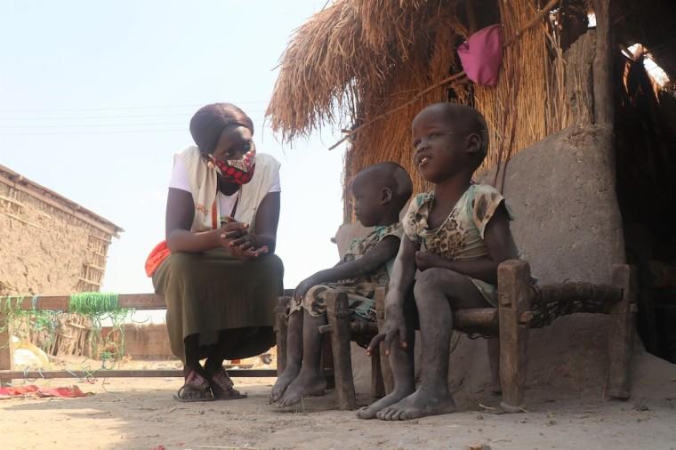 World Vision Hunger Visit with Children