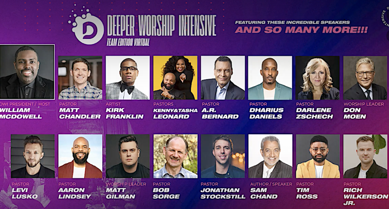 William McDowell Launches Four-Week Deeper Worship Intensive to Equip Christians