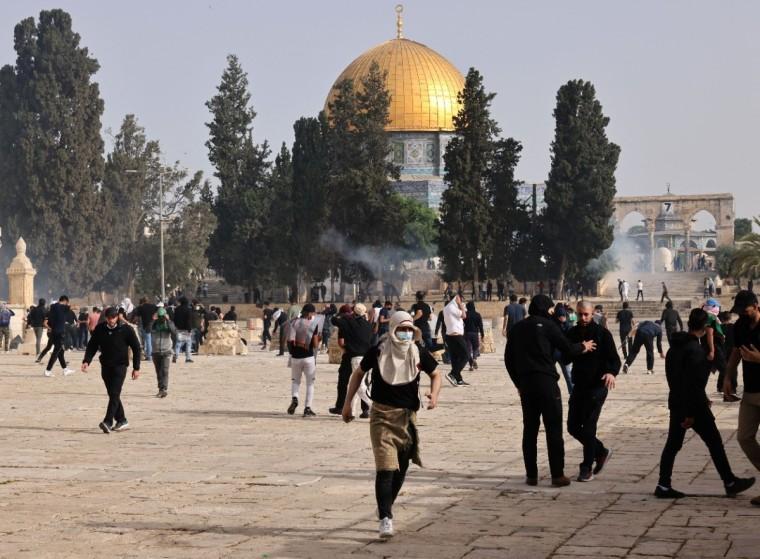 Jerusalem Day riot