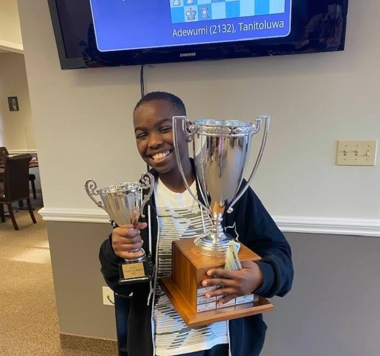 10-Year-Old Christian Refugee From Nigeria Is Now America's Newest Chess Master