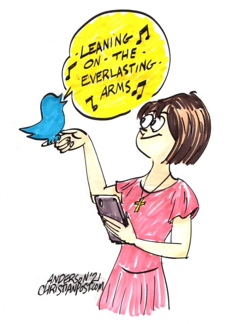 Social Media Witnessing in a Polarized Society