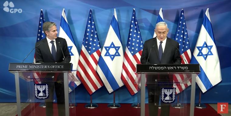 Netanyahu and Blinken Meet in Israel