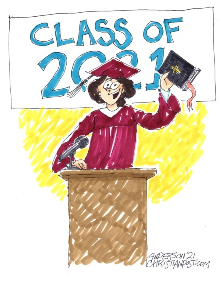 A Valedictorian Champions Christ!