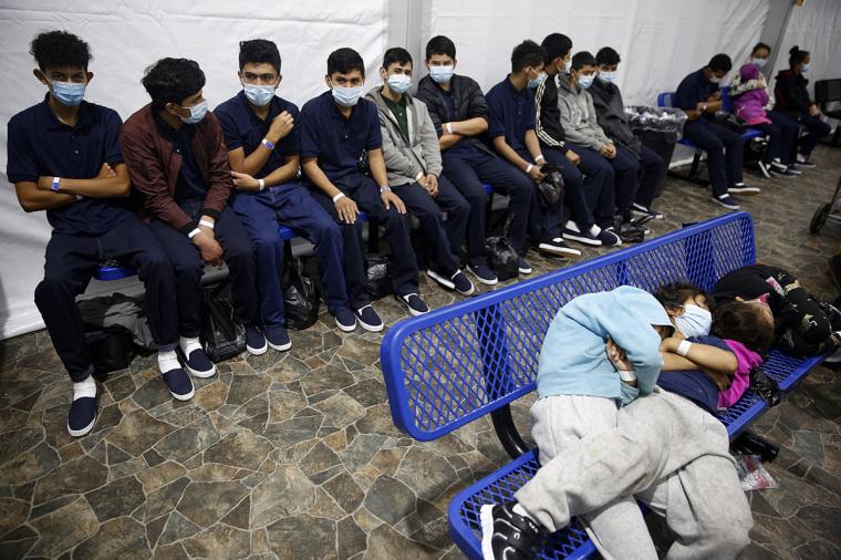 Texas, border, migrant facility