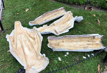 Our Lady of Mercy Parish Statue Vandalized