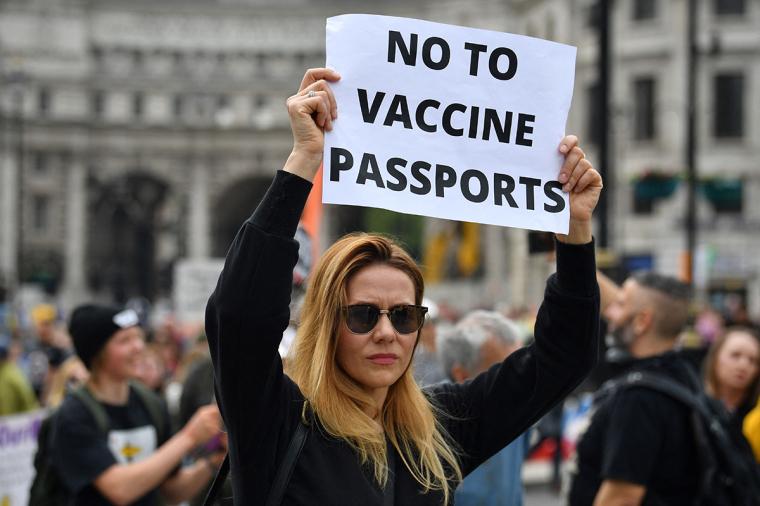Lockdown Protest, COVID-19, vaccine