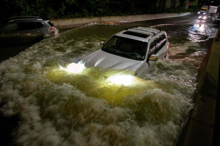 New York, Ida, flooding