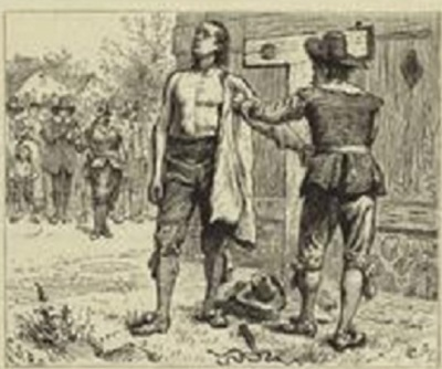Puritans punish Baptist preacher with 30 lashes – Sept. 6, 1651