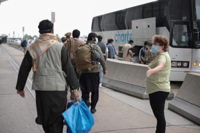 Afghan arrivals, Afghans,