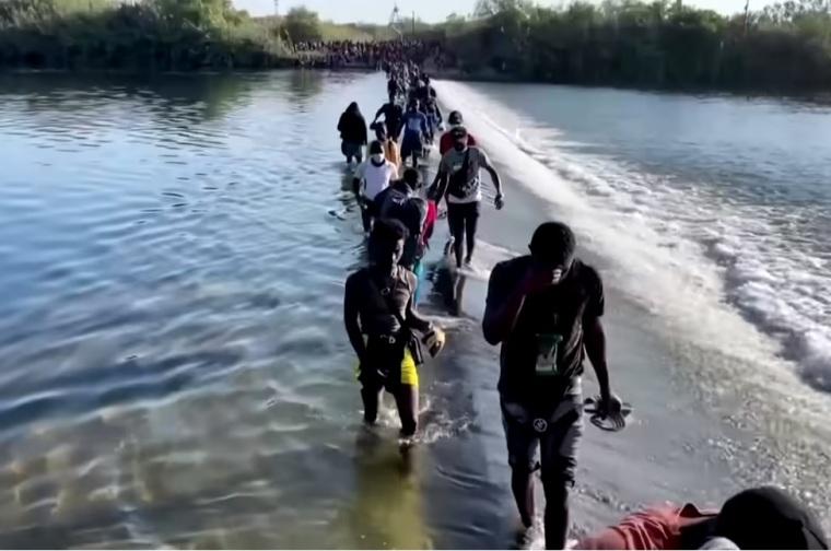 Border crossing, immigration