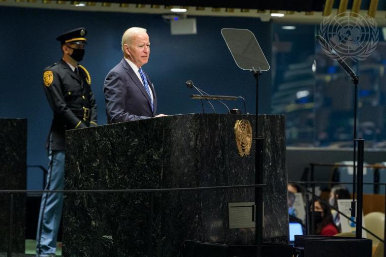 Biden and UN