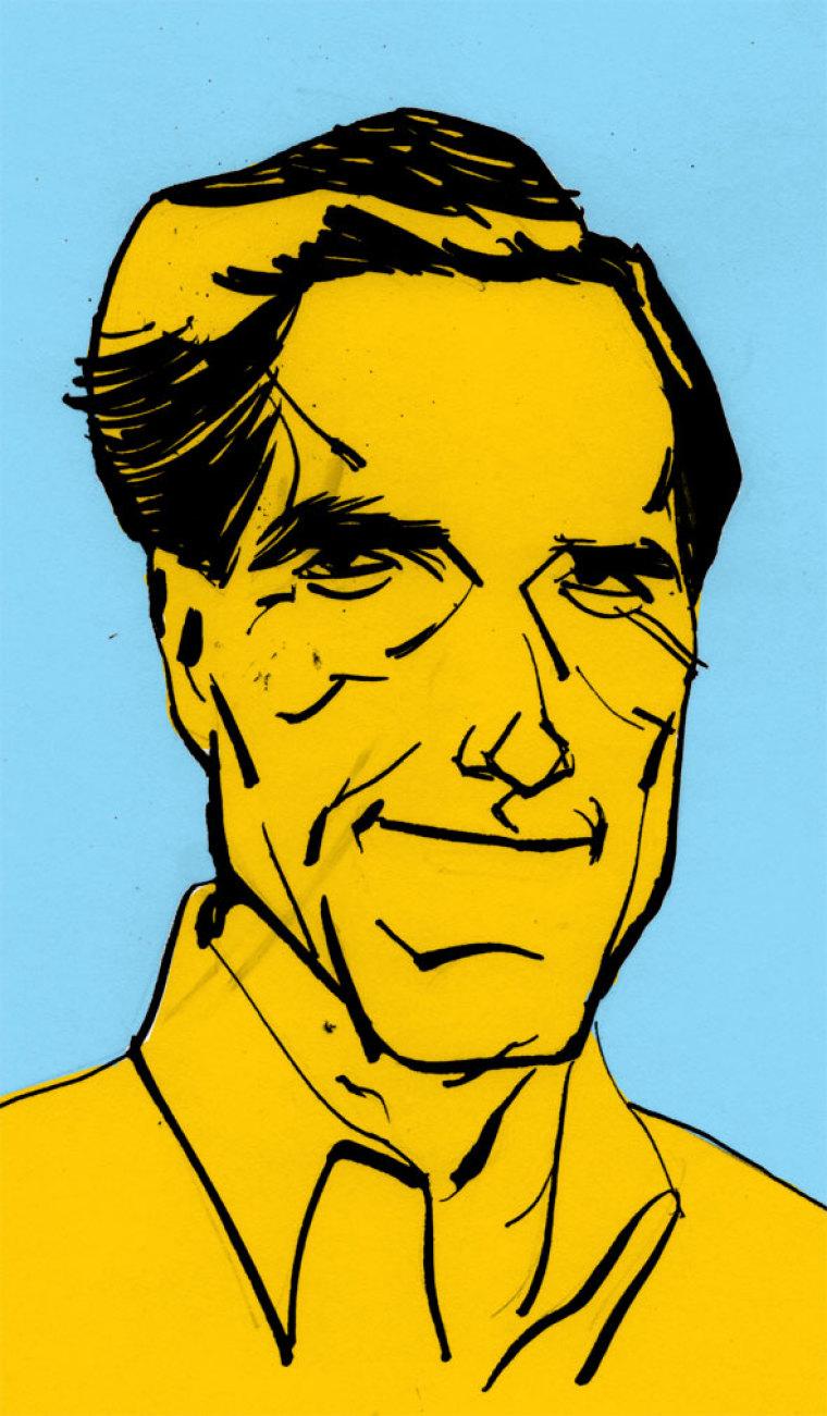 Mitt Romney Makes His Bid