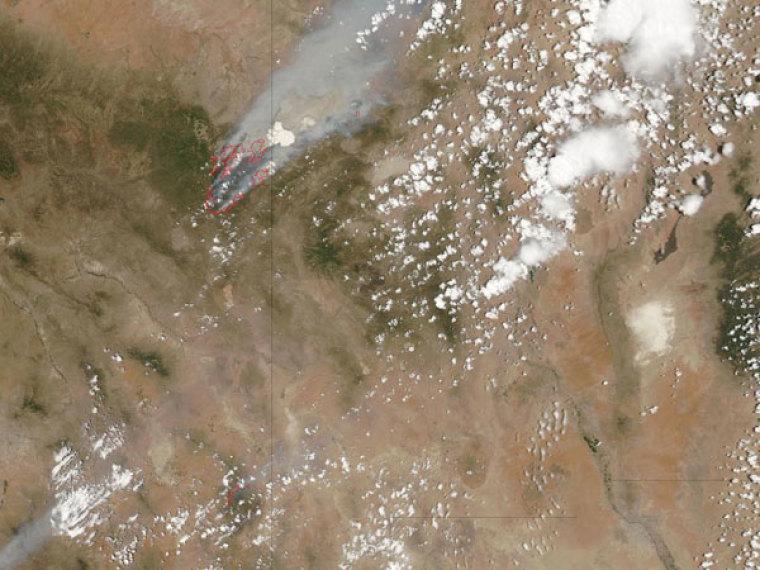 Arizona Fires 2011
