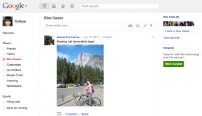 Google+ Social Networking