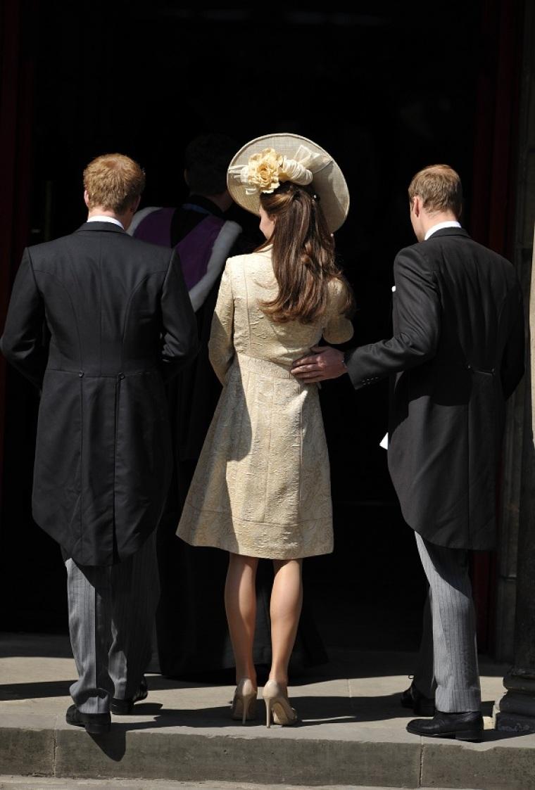 kate middleton, zara phillips wedding