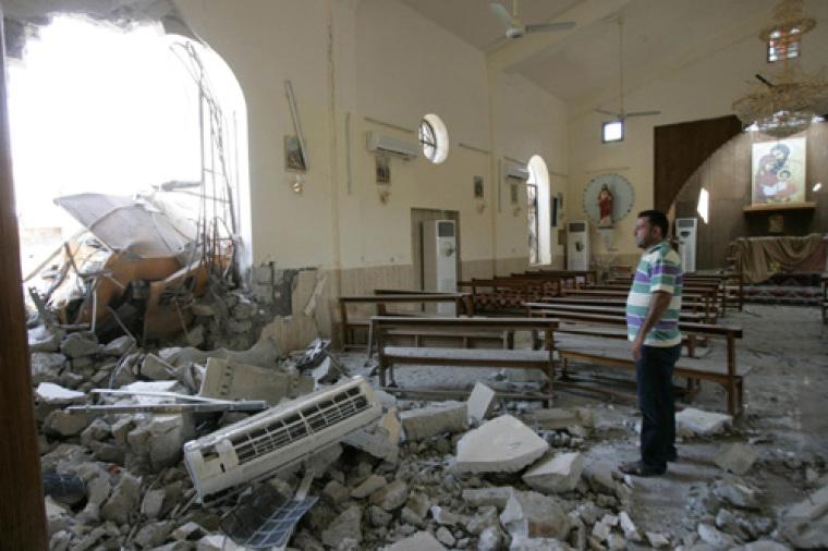 Iraq Church bomb
