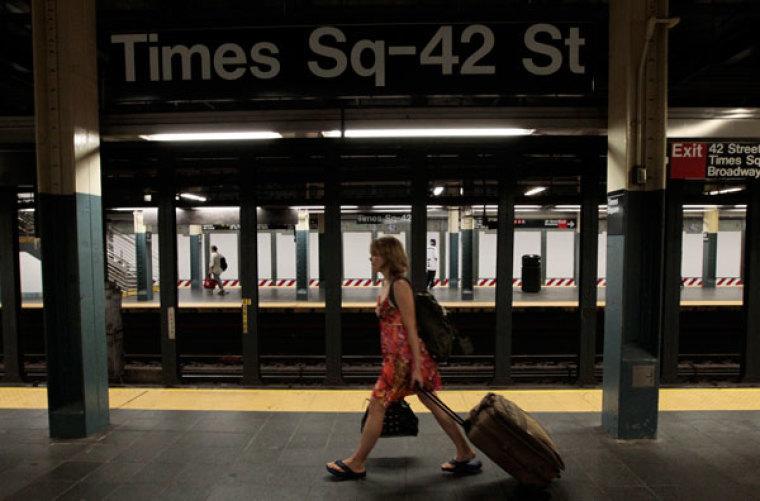 irene new york subway