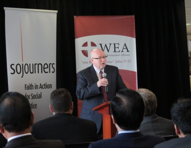 Sojourners and WEA, Dr. Geoff Tunnicliffe