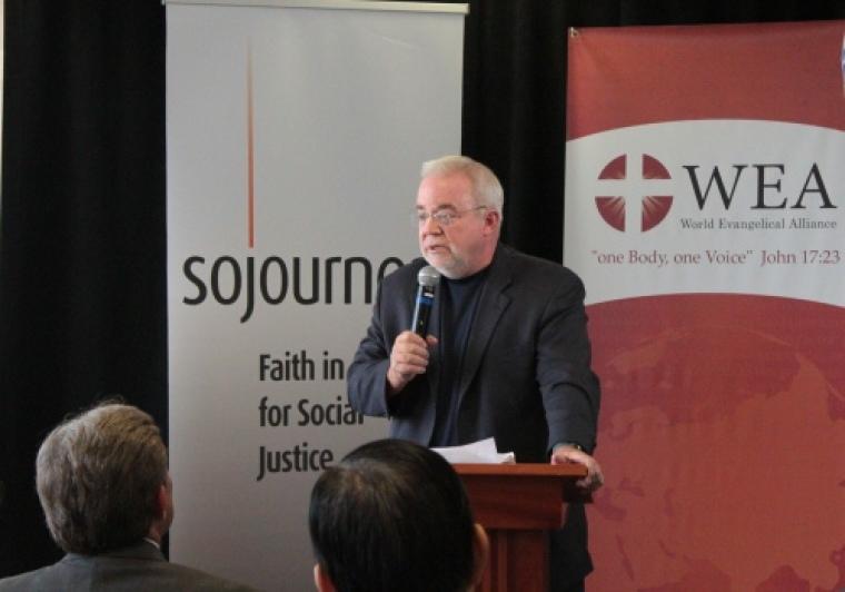 Sojourners and WEA, Jim Wallis