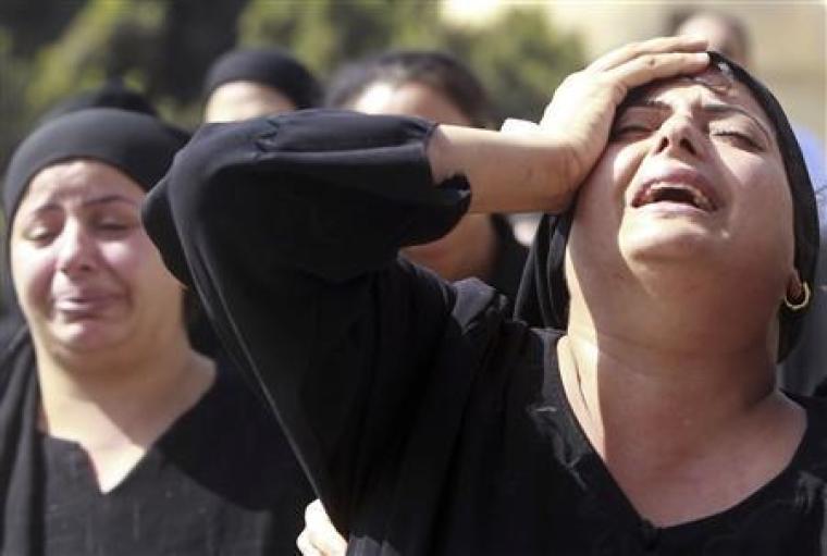 Coptics Mourn