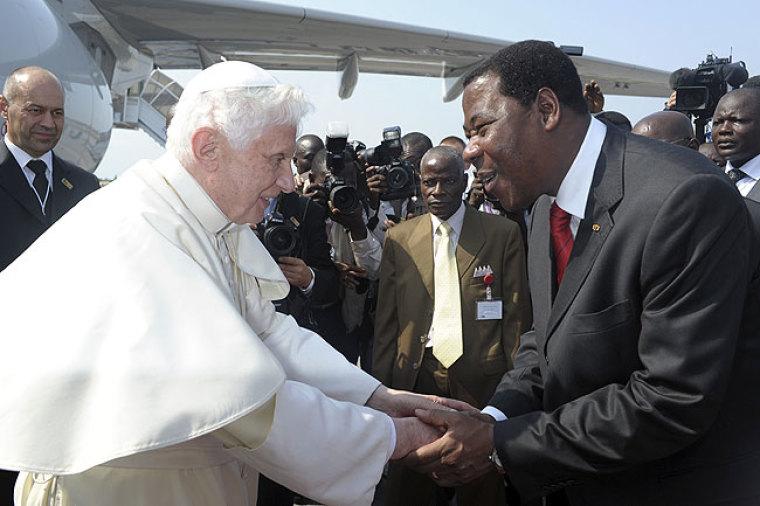 Pope in Benin