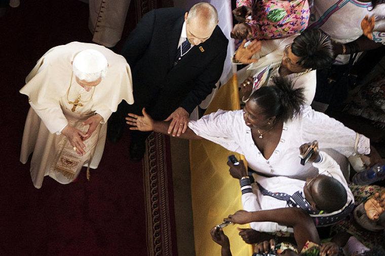 Pope Benin Visit