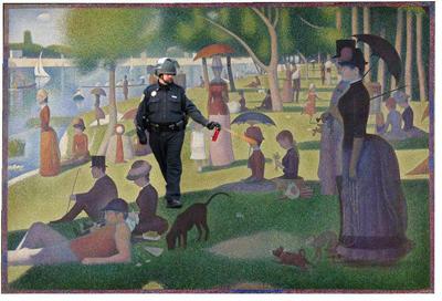 Lt. John Pike Meme Goes Viral (2)